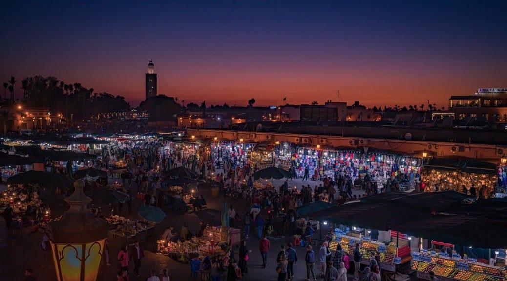 Les 5 choses à voir à marrakech